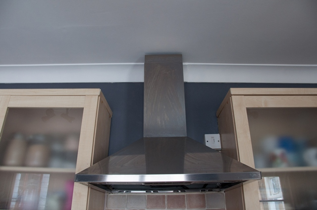 A Painting Update On My Kitchen I Had Thought I Wanted A Light Blue Grey Colour But It Just Didn T Work In The Space So I Ve Gone With Crown Slate Grey